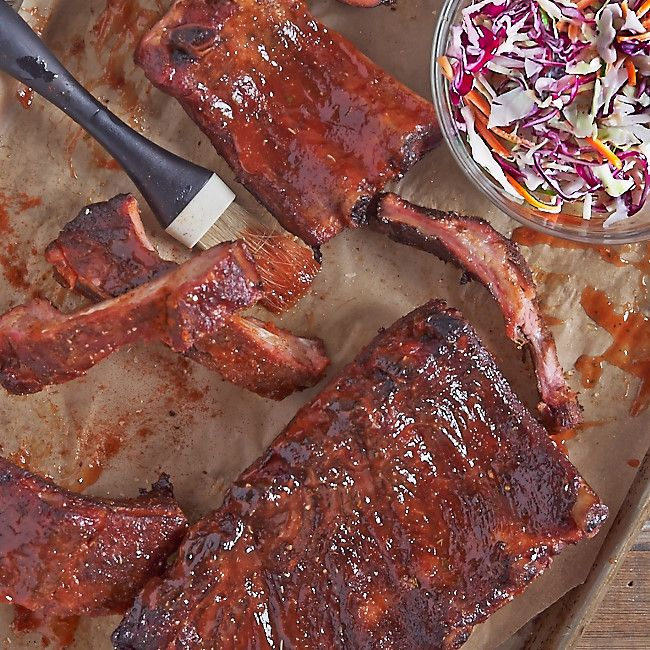 Smoked Baby Back Ribs...classic barbecue for your 4th of July ...