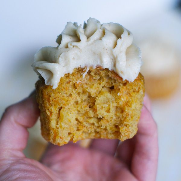 Carrot and Pineapple Cupcakes with Brown Butter Cream Cheese Frosting ...