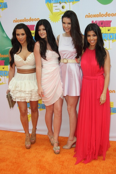 Celeb families at the Kids Choice Awards