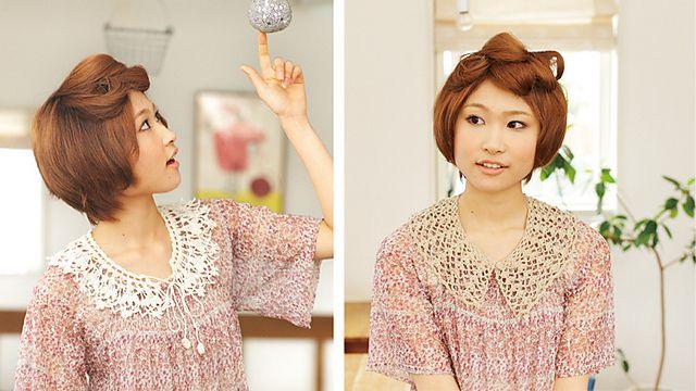 crochet lace collar, free pattern by Pierrot