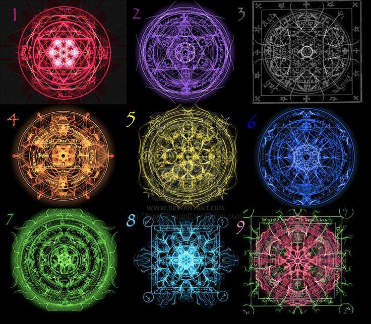 Fairy tail magic symbols