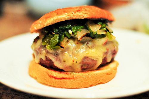 Grilling: Green Chile Cheeseburger | Recipe
