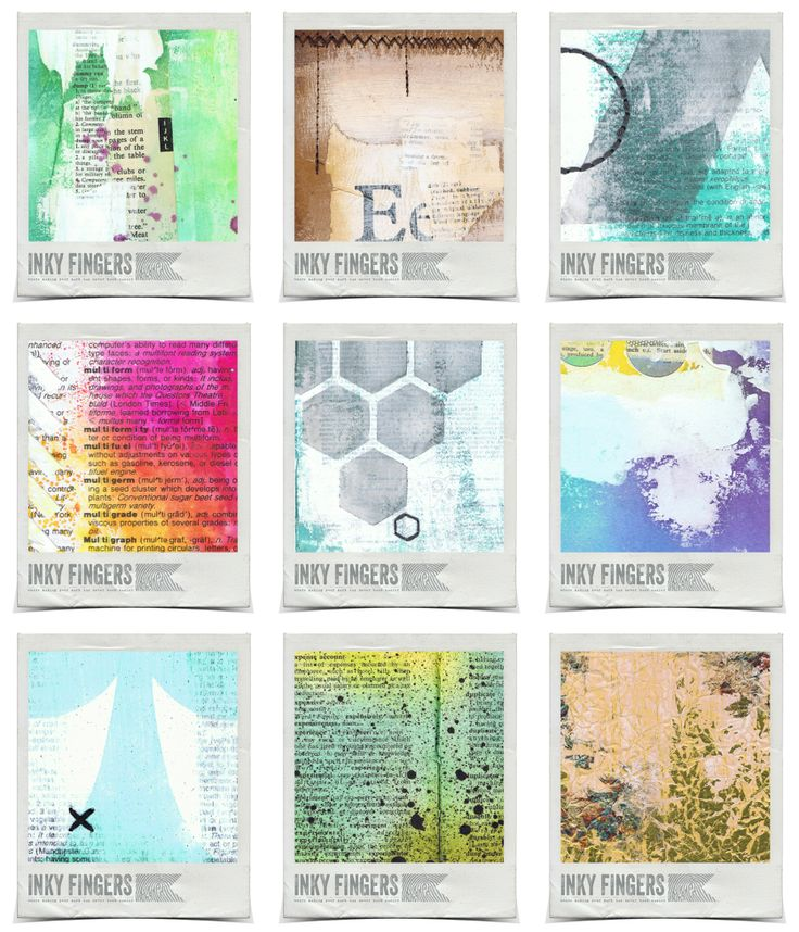 New Mixed Media Backgrounds for Sale!!!! by InkyFingers.bigcartel.com