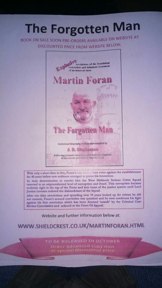 THE FORGOTTEN MAN THE STORY OF THE BRITISH PRISON NIGHTMARE OF MARTIN FORAN
