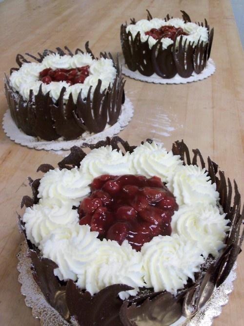 Black Forest Torte | Pastry School | Pinterest