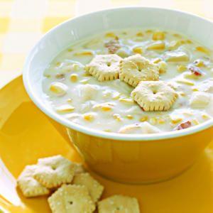 Five & Dine: How to Cook Corn Chowder  | MyRecipes.com #video