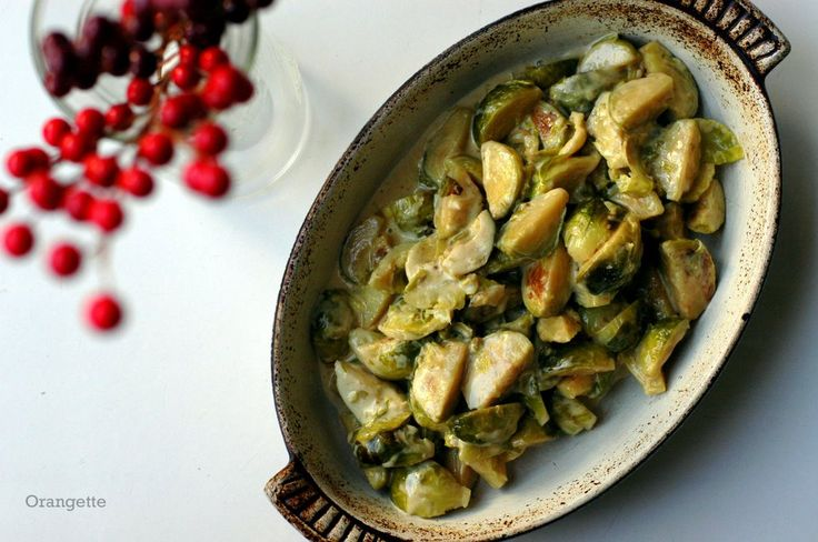 Cream-Braised Brussels Sprouts | Recipe Box - Salads & Side Dishes ...
