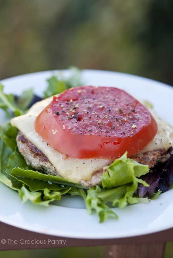 Simple Meals: Low Carb Burgers #CleanEating #Dinner #DinnerIdeas