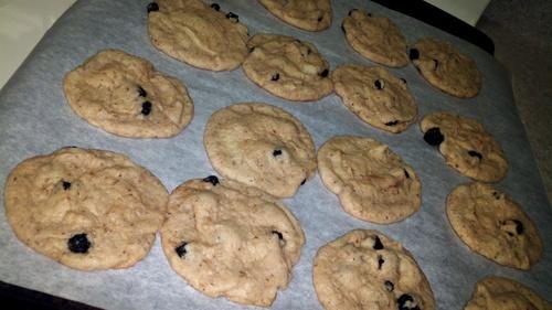 Blueberry almond sugar cookies | Desserts | Pinterest