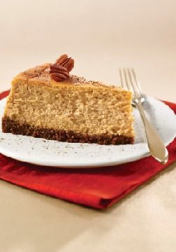 – fluffy pumpkin cheesecake with a buttery gingersnap crust ...