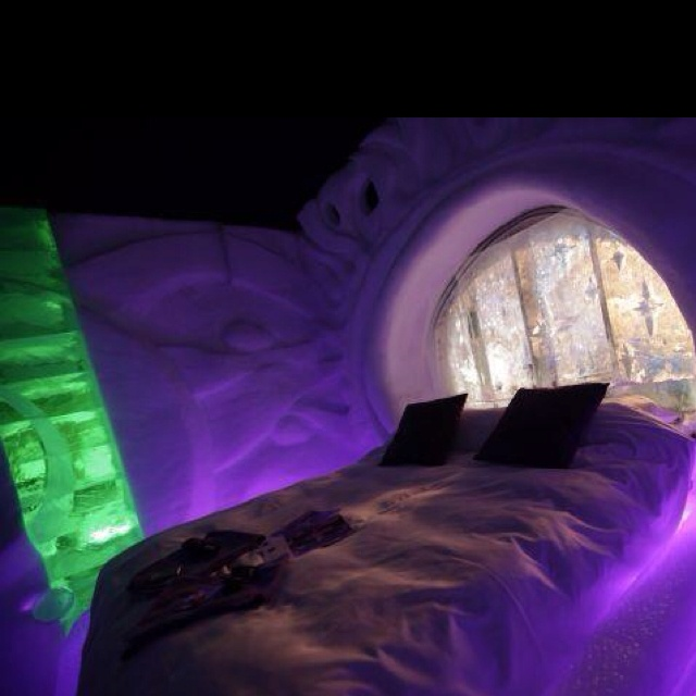 Dutch Ice Hotel in the Dutch city of Zwolle!