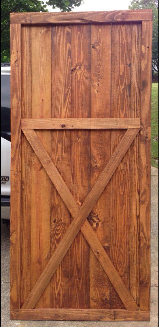 Barn door wood interior door reclaimed wood home by themtwobirds