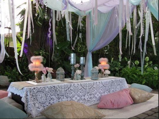 Boho Backyard Party : Outdoor boho party  Jasmine party  Pinterest