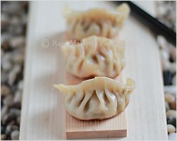 Steamed Pork & Shrimp Dumplings Recipe