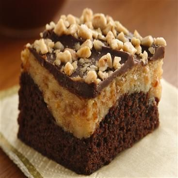 peanut butter truffle brownies peanut butter snickers brownies peanut ...