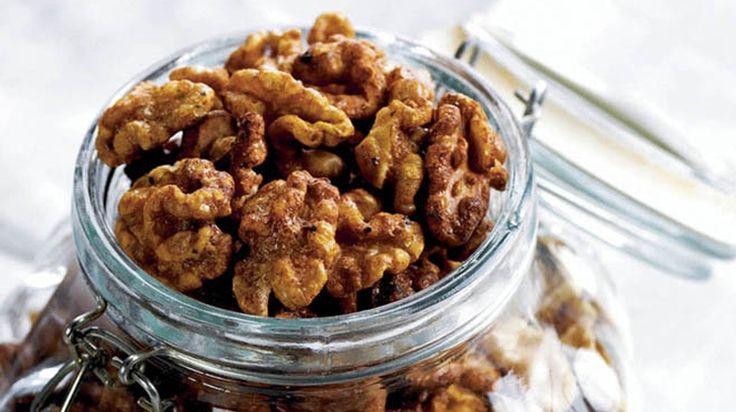 Sweet & Spicy Walnuts Recipe - California Walnuts