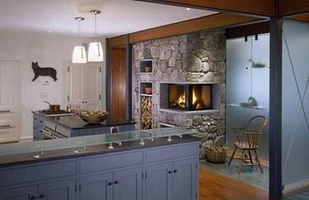 Pin By Jewelz Makris Vaio On Rustic Homes Fireplaces Pinterest