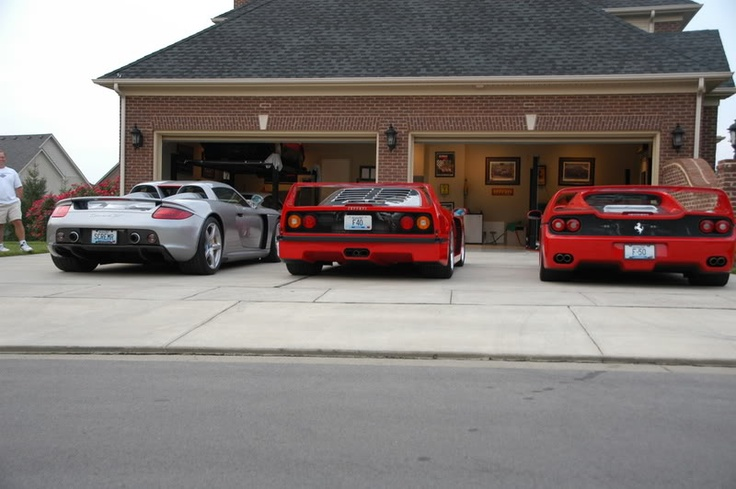 Nice Cars With Personal Garages : Nice garage custom garages pinterest