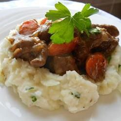Corned Beef. An Irish Beef Stew, Richly Flavored With Dark Beer ...