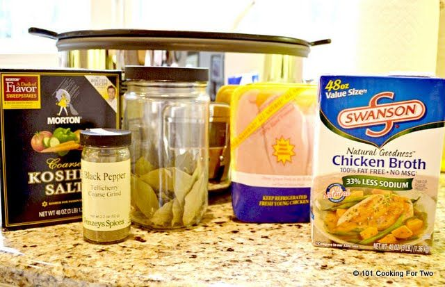 Easiest Crock Pot Shredded Chicken 101 Cooking For Two - Everyday ...