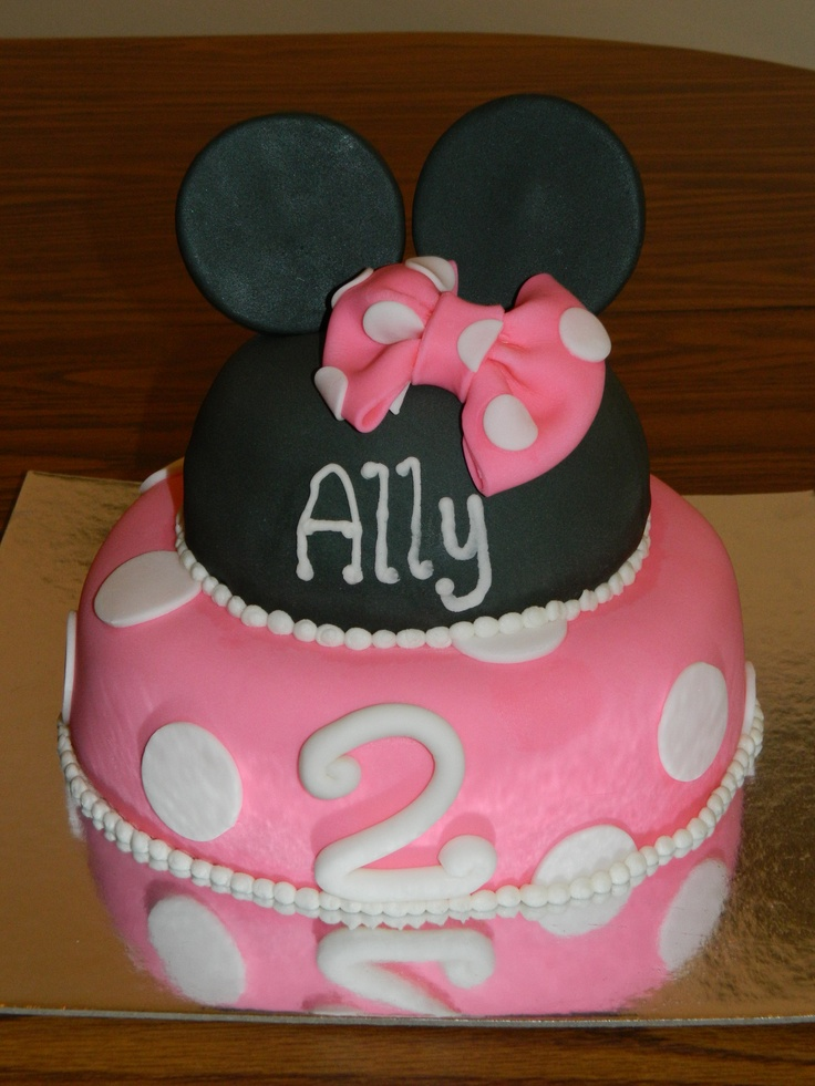 homemade minnie mouse cake minnie mouse cakes recent photos the ...