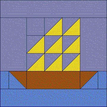 Sailboat Block | quilt patterns | Pinterest