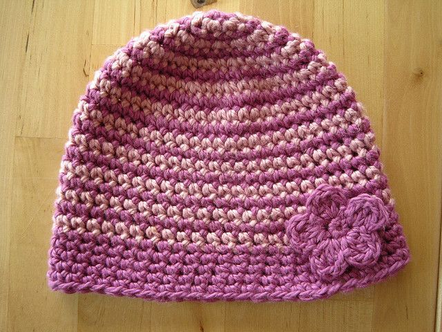 Crocheting With Two Colors : two color crochet beanie. Crochet Pinterest