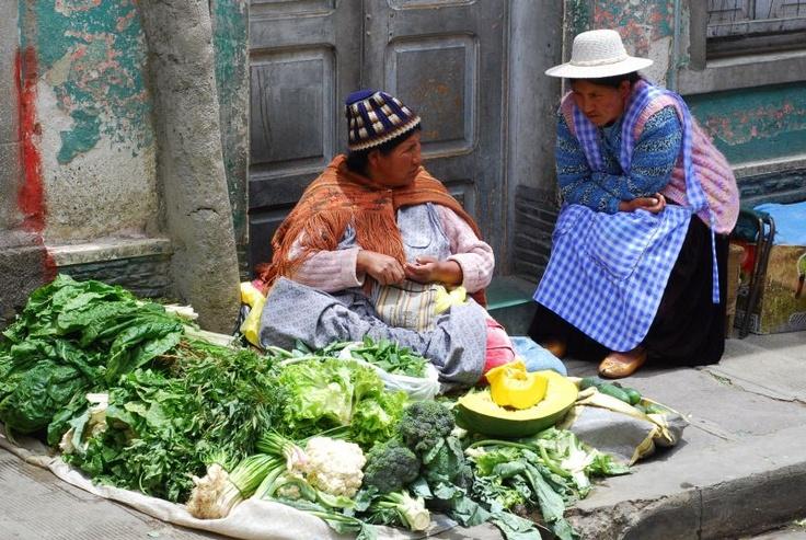 La Paz, Bolivia - Mercado Negro (fot. Filip Choma).