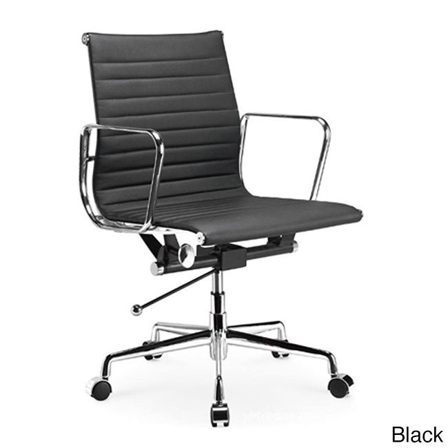 Manhattan Comfort Metro Mid Back Adjustable Office Chair