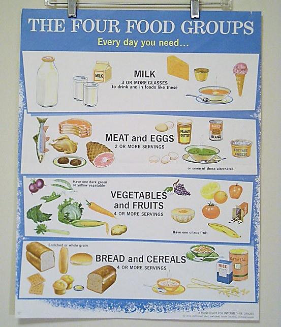 4 Major Food Groups  Healthy Eating  SF Gate