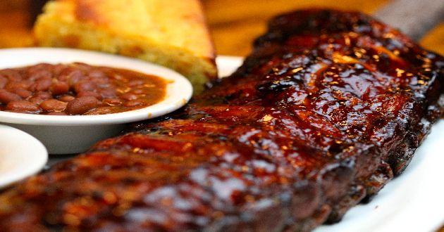 Competition-style Barbecue Ribs Recipe — Dishmaps