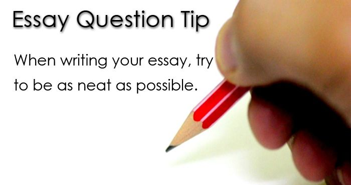 essay writing test