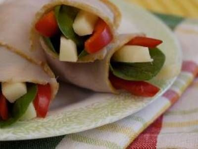 Spinach Turkey Roll Ups | Poultry | Pinterest