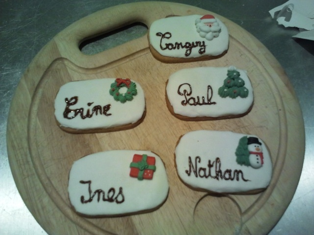 Table Place Name For Children Christmas Ideas Pinterest