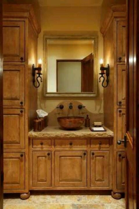 Fantastic Rustic Bathroom Vanity Cabinets  Bathroom Design Ideas And More