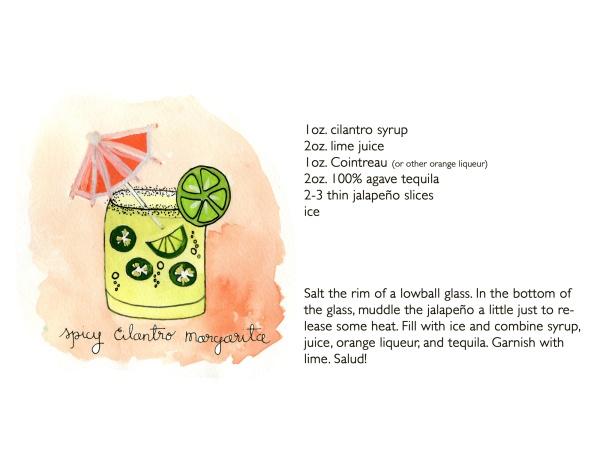 Spicy Cilantro Margarita with Jalapeños | Happy Hour | Pinterest