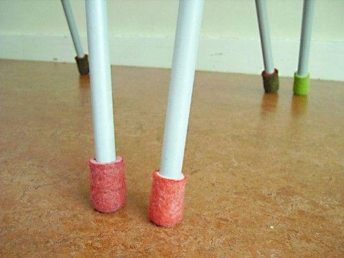 Felt Feet Furniture Pinterest