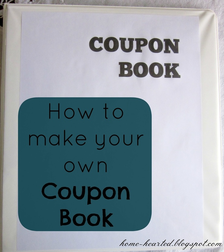 make your own coupon book free chasing firefly coupon