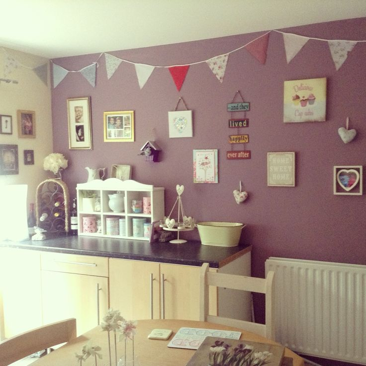 My Kitchen Feature Wall Kitchen Pinterest