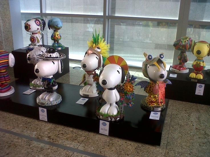 Exposición METLIFE-SNOOPY 2012