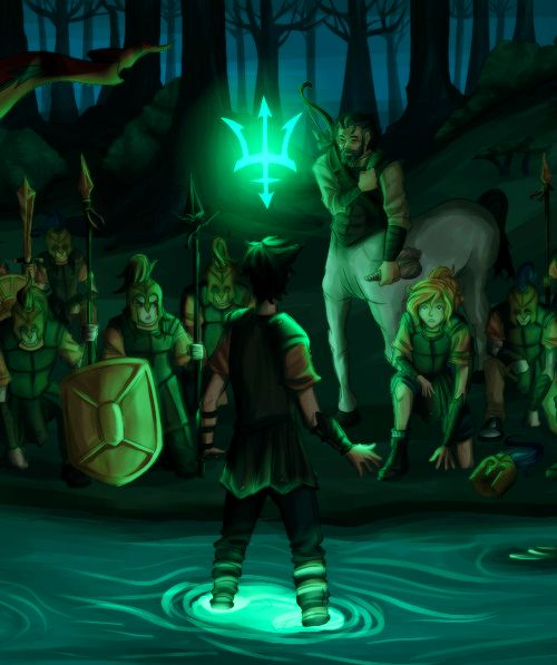 Percy Jackson. Getting claimed...  This scene gives me goosebumps.