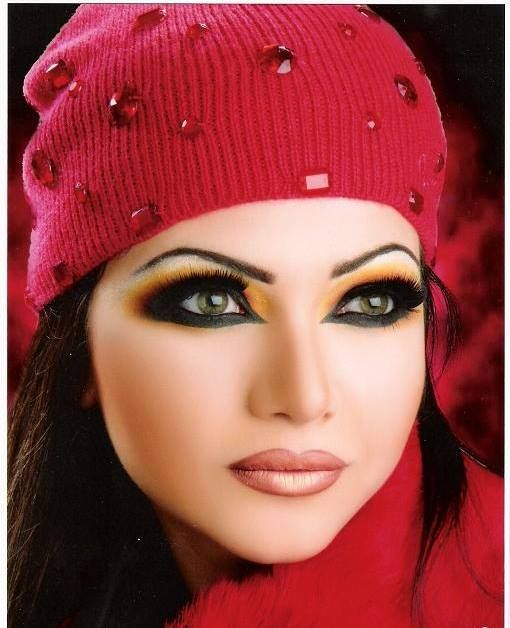Middle Eastern Inspired Eye Makeup | Extremely Beautiful ...