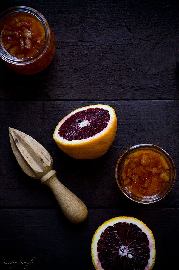 This Blood Orange Marmalade is rich in color and flavor and has only 4 ...