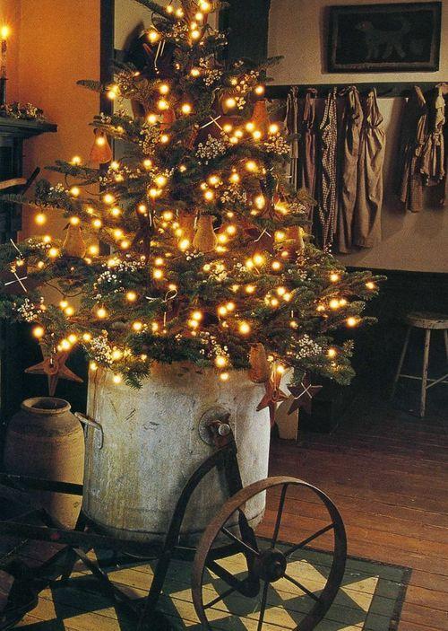 Primitive Christmas Decor | Christmas Trees & Decor | Pinterest