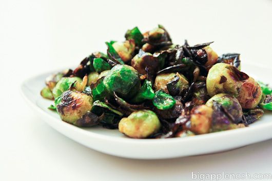 Crispy Fried Brussels Sprouts With Honey And Sriracha ...