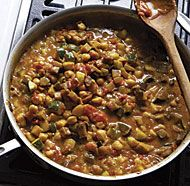 Curried Chickpea and Summer Vegetable Stew | Recipe