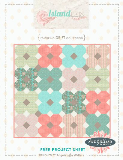 Island Leis- Free Quilt Pattern