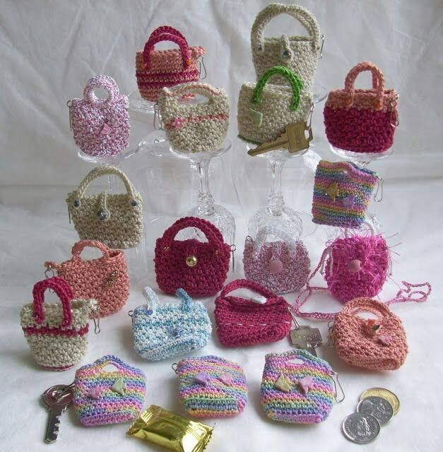 Mini Crochet Bag : Mini bags