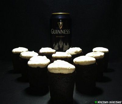 Nigella Lawson's Chocolate Guinness Cake (makes approx. 30 mini ...