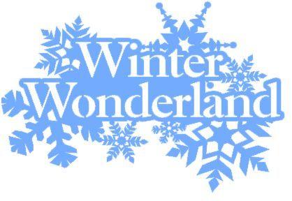 Winter Wonderland Vinyl Decal